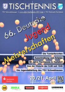 Titelseite Programmheft DJM 2013