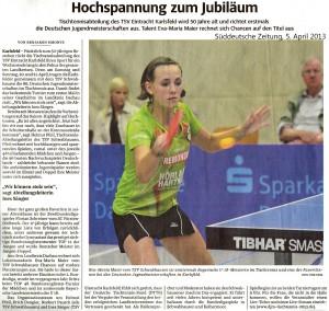 Süddeutsche Zeitung, 5. April 2013