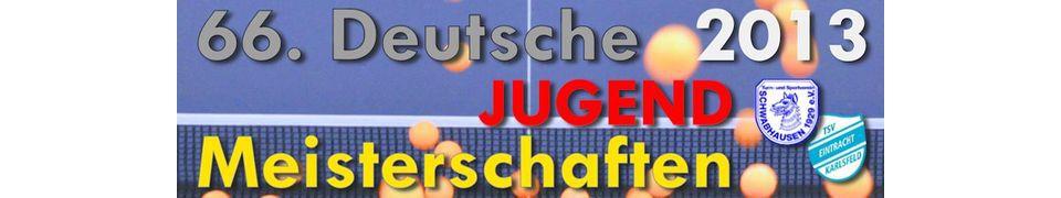 66. Deutsche Jugendmeisterschaften im Tischtennis 2013