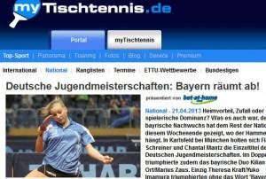 mytischtennis.de, 22.04.2013