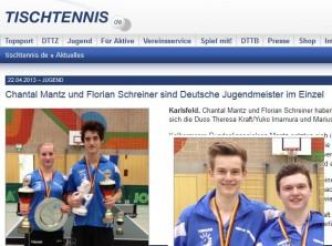 tischtennis.de vom 22.04.13